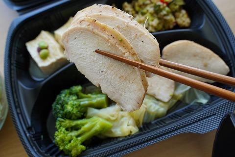 鶏ムネ肉BBQ