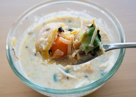 グリーンスープのスープ